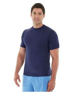 Logan  HeatTec® Tee-M-Blue