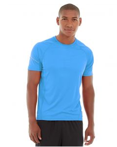 Atomic Endurance Running Tee (Crew-Neck)-M-Blue